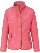 Gewatteerde jas Van Basler rood
