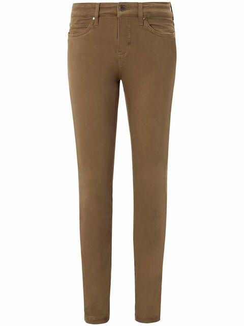 Jeans, model Dream Skinny, lengte 28 inch Van Mac beige