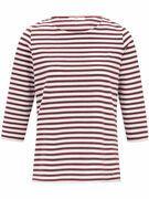 Shirt met 3/4 mouwen Van Brax Feel Good multicolour