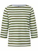 Shirt met ronde hals en driekwartmouwen Van Bogner multicolour
