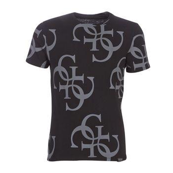 T-shirt Korte Mouw Guess  CN SS ALL OVER G TEE