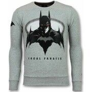Sweater Local Fanatic  Batman  Trui - Batman Heren Sweater - Truien Mannen