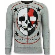 Sweater Local Fanatic  Skull Trui - God of War Heren Sweater
