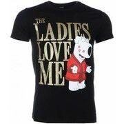 T-shirt Korte Mouw Mascherano  T-shirt - The Ladies Love Me Print
