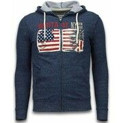 Sweater Enos  Casual Vest - Embroidery American Heritage