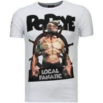 T-shirt Korte Mouw Local Fanatic  The Sailor Man - Rhinestone T-shirt