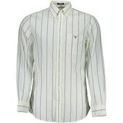 Overhemd Lange Mouw Gant  1601.347400 Shirt Long Sleeves Men white 110