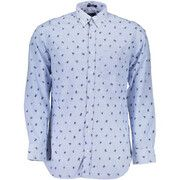Overhemd Lange Mouw Gant  1601.393140 Shirt Long Sleeves Men light blue 410