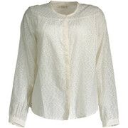Overhemd Lee  L46OAOMY Shirt Long Sleeves Women white CREAM