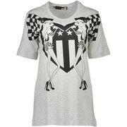 T-shirt Korte Mouw Love Moschino  W 4 F15 03 M 3519 T-shirt Short sleeves Women grey B266