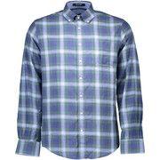 Overhemd Lange Mouw Gant  1403.387112 Shirt Long Sleeves Men blue 305