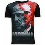 T-shirt Korte Mouw Local Fanatic  El Padrino - Digital Rhinestone T-shirt