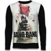 Sweater Local Fanatic  Monroe Bang Bang - Digital Rhinestone Sweater