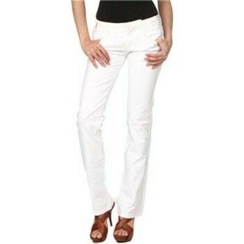 Bootcut Jeans Phard  P1708290510704 ANUSKA Trousers Women white 1100