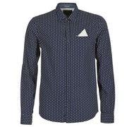 Scotch & Soda overhemd 145371 in het Kobalt
