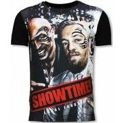 T-shirt Korte Mouw Local Fanatic  Showtime - Digital Rhinestone T-shirt