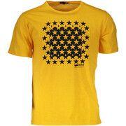 T-shirt Korte Mouw Gas  GATS01KABOOM AB30 T-shirt Short sleeves Men GIALLO 1-YELLOW 155
