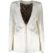 Blazer Roberto Cavalli  S04BN0113 Classic jacket Women BIANCO 101