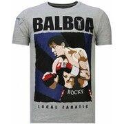 T-shirt Korte Mouw Local Fanatic  Balboa - Rhinestone T-shirt