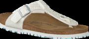 Witte Birkenstock Papillio Slippers GIZEH KIDS