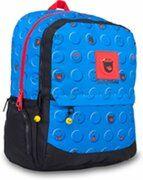 Smiley World Rugzak - Licht blauw - 30 x 21 x 43 cm - 8 liter