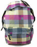 Hawkins Kleurrijke Ruitjes Rugzak Rugtas School Tas 5-12 Jaar Trendy