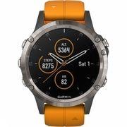 Fenix 5 Plus Sapphire Titanium Horloge