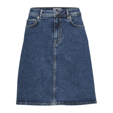 Slffreja Hw Hayes Denim Skirt