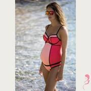 Cache Coeur ZwangerschapsTankini / PositieTankini Rosy